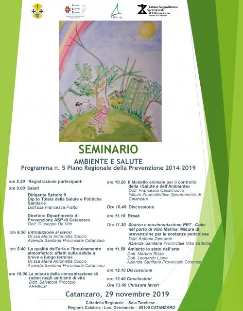 291119 seminario ambientesalute